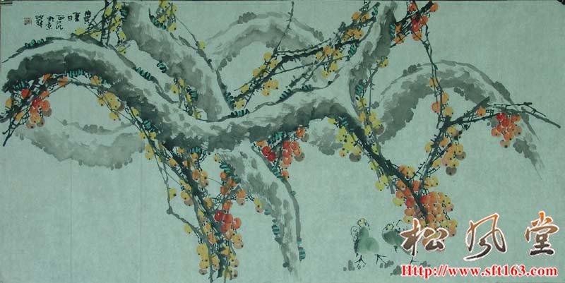 夏日 崔西民国画