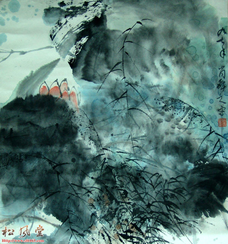 肖舜之国画 花卉1
