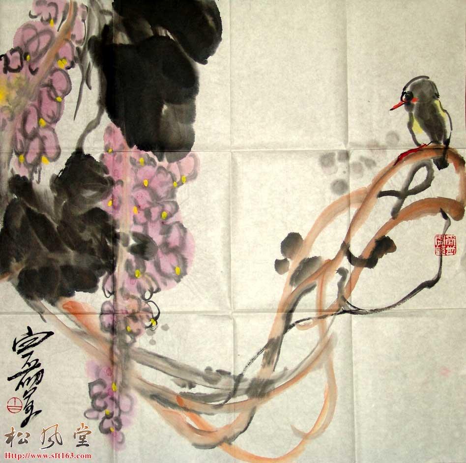 白磊国画作品3