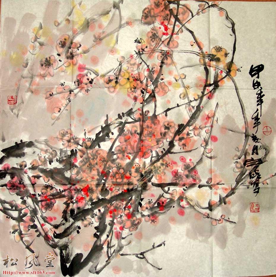 白磊国画作品5