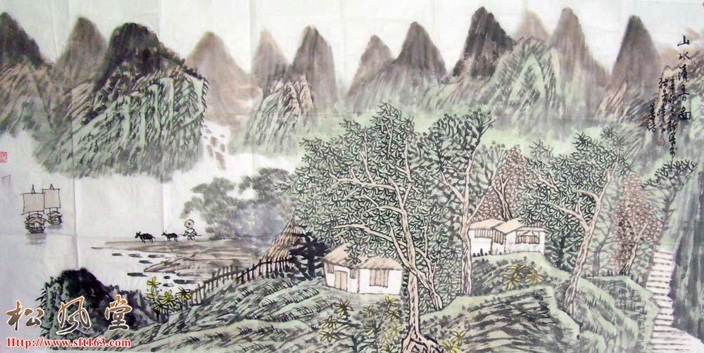 刘善传国画作品22