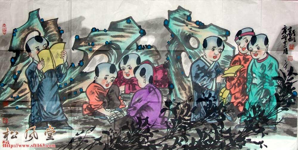 胡新利国画作品31