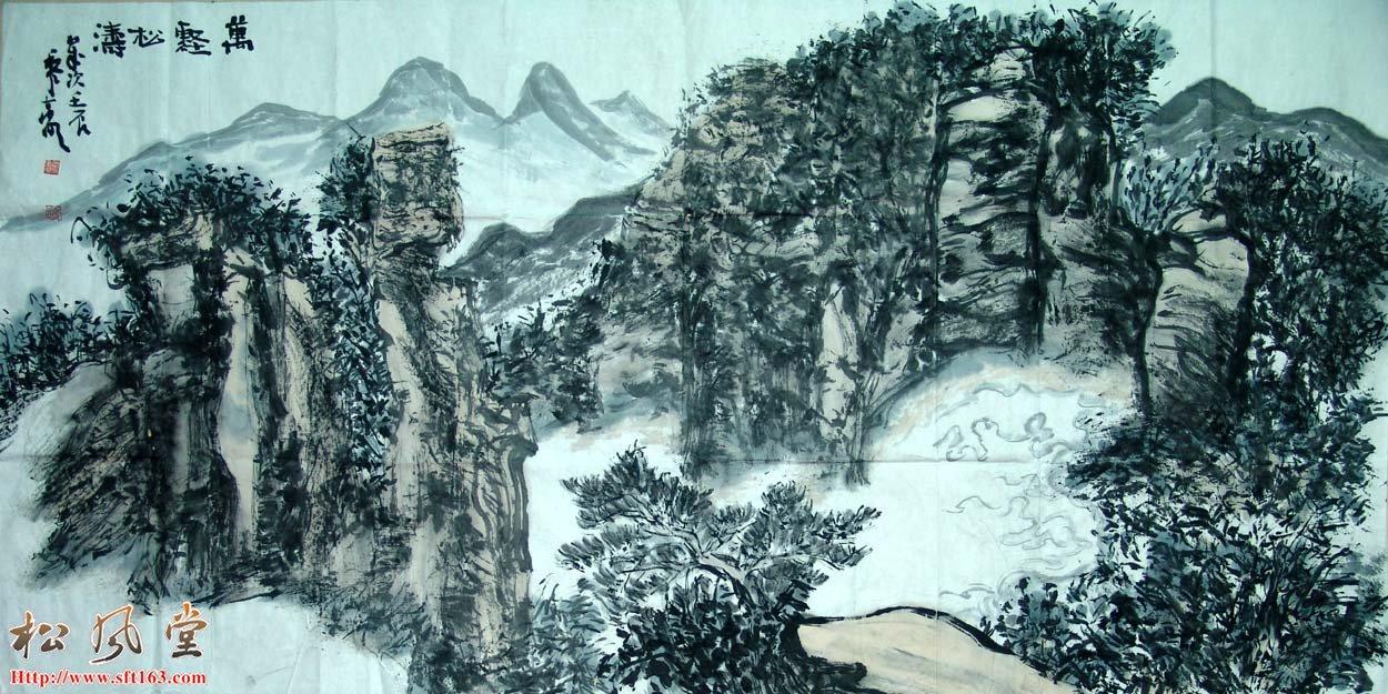黎东明国画作品