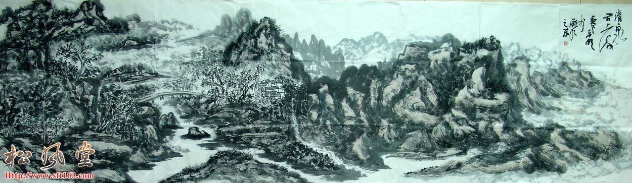 黎东明国画作品5