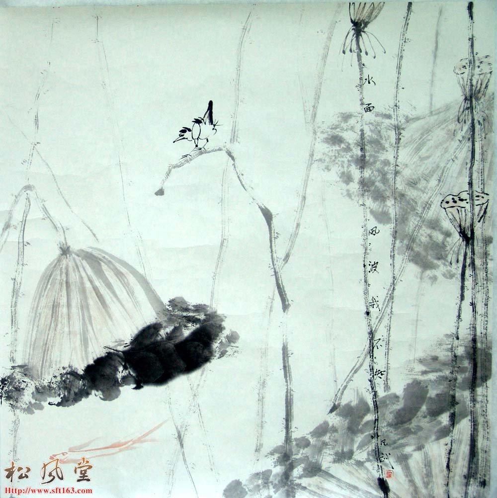 蓝凡武国画作品7