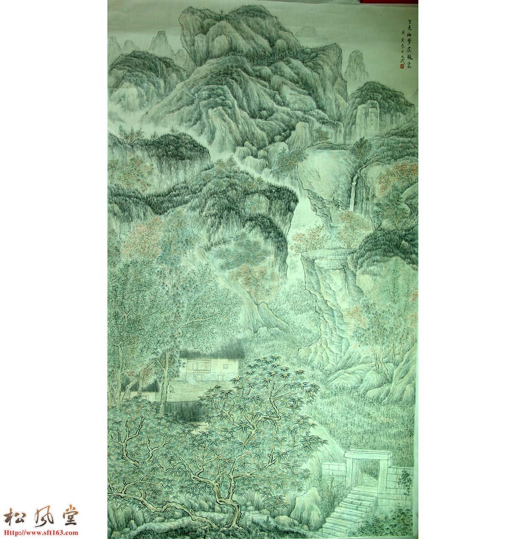 蓝凡武展览国画作品