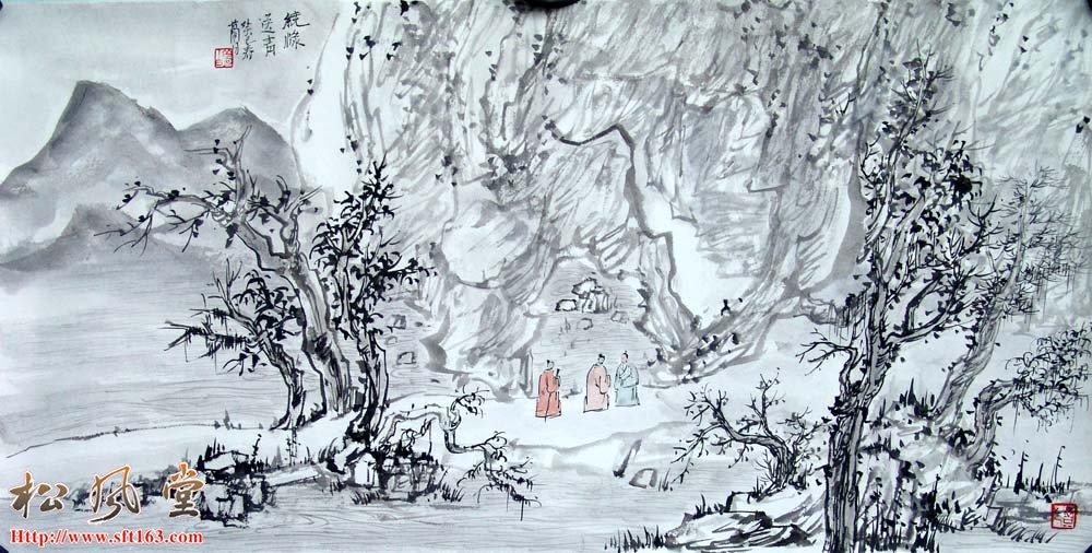 梦白国画作品展示