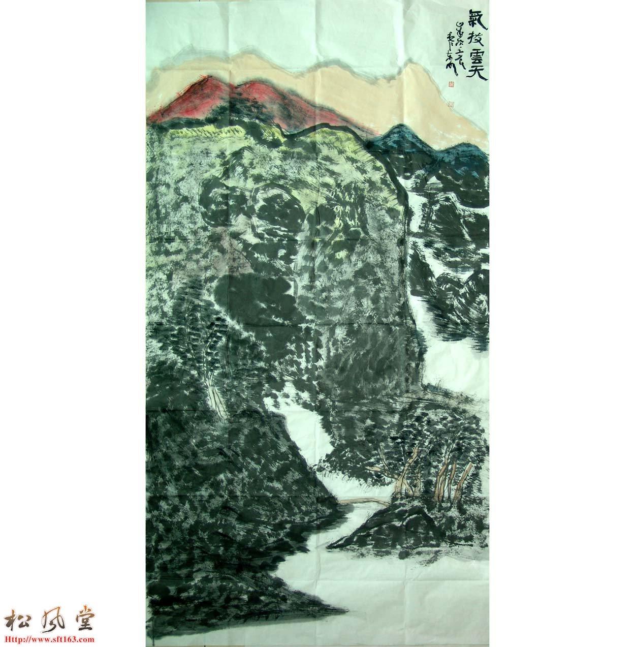 黎东明国画