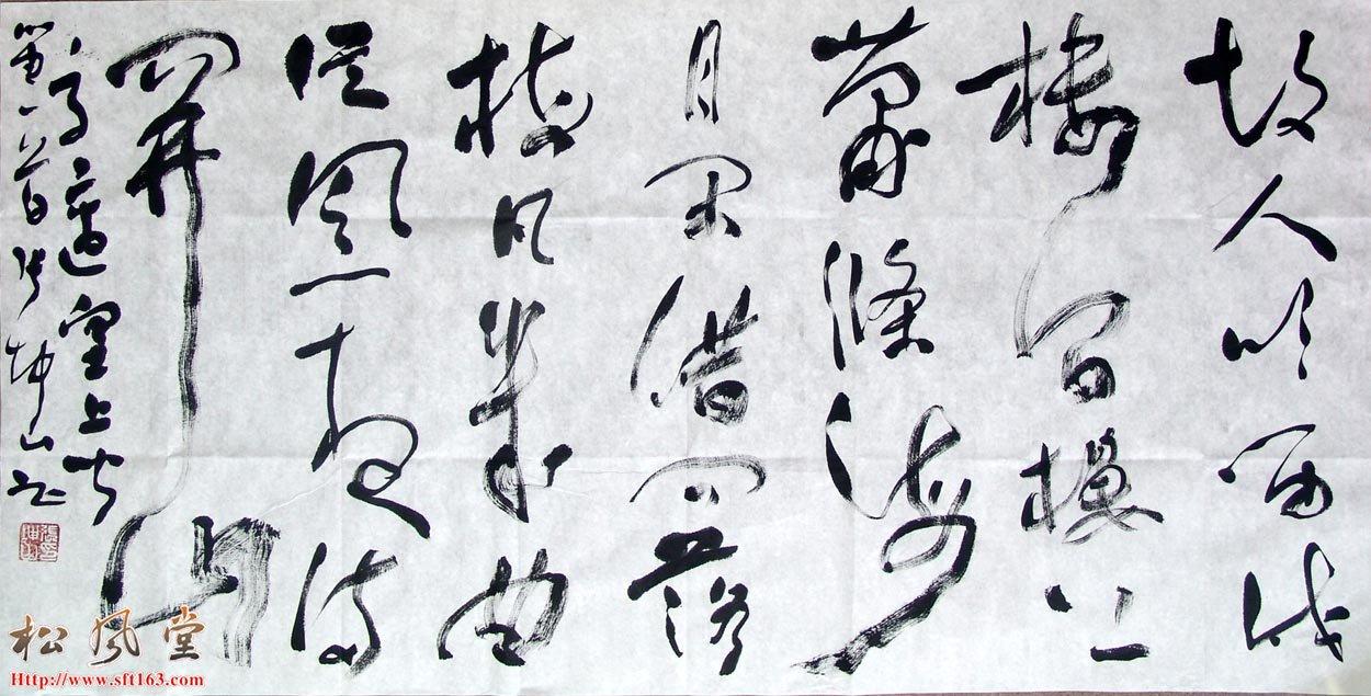 张坤山书法作品46