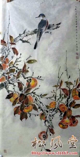周午生花鸟作品2